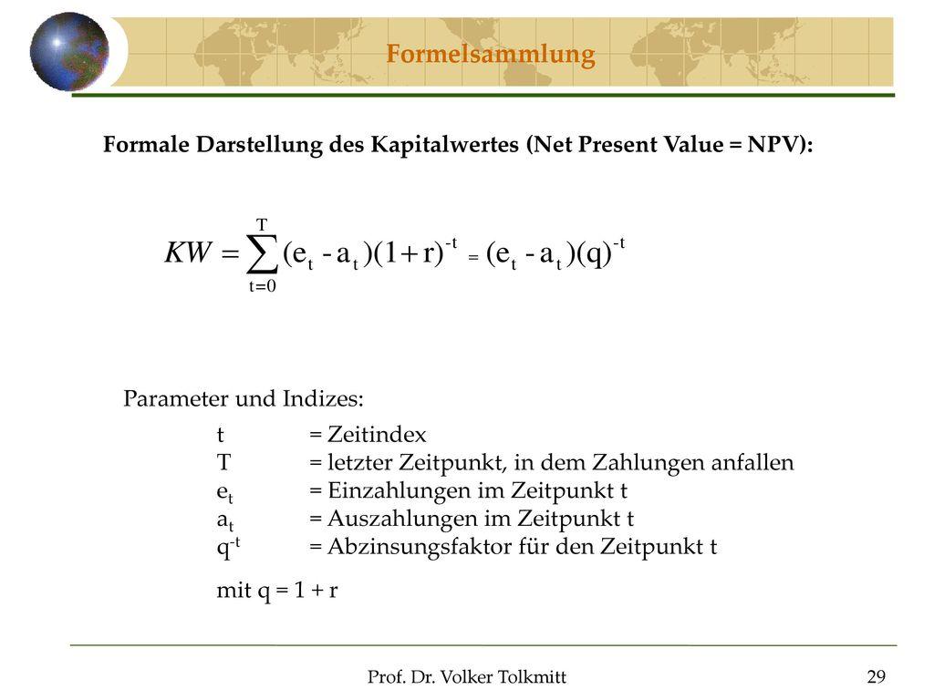 Prof. Dr. Volker Tolkmitt