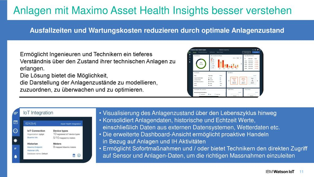Maximo Asset Health Insights