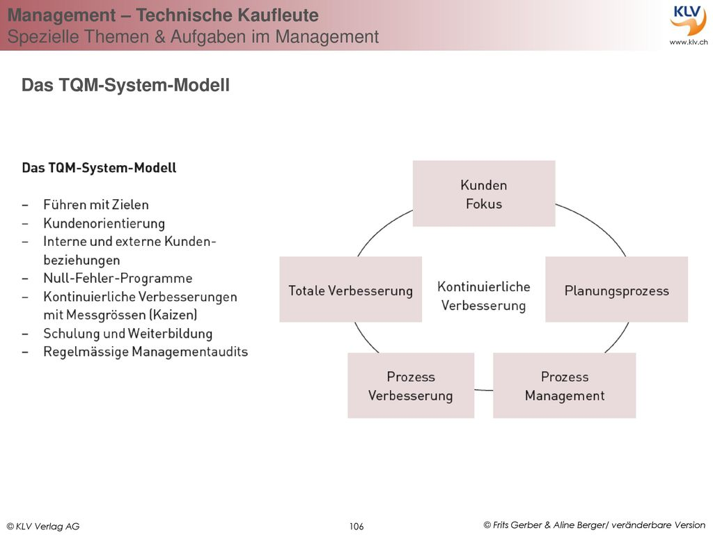 Das TQM-System-Modell