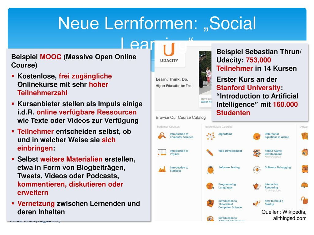 """Neue Lernformen: """"Social Learning"""