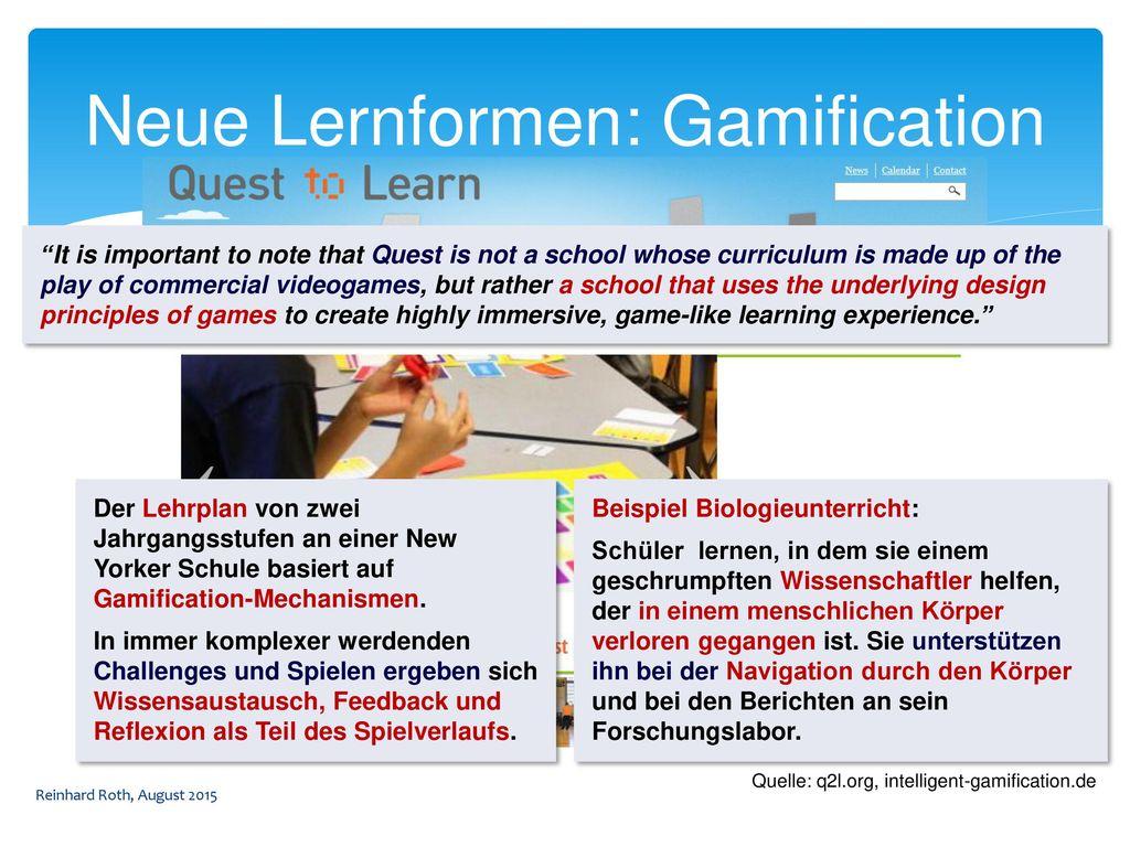 Neue Lernformen: Gamification