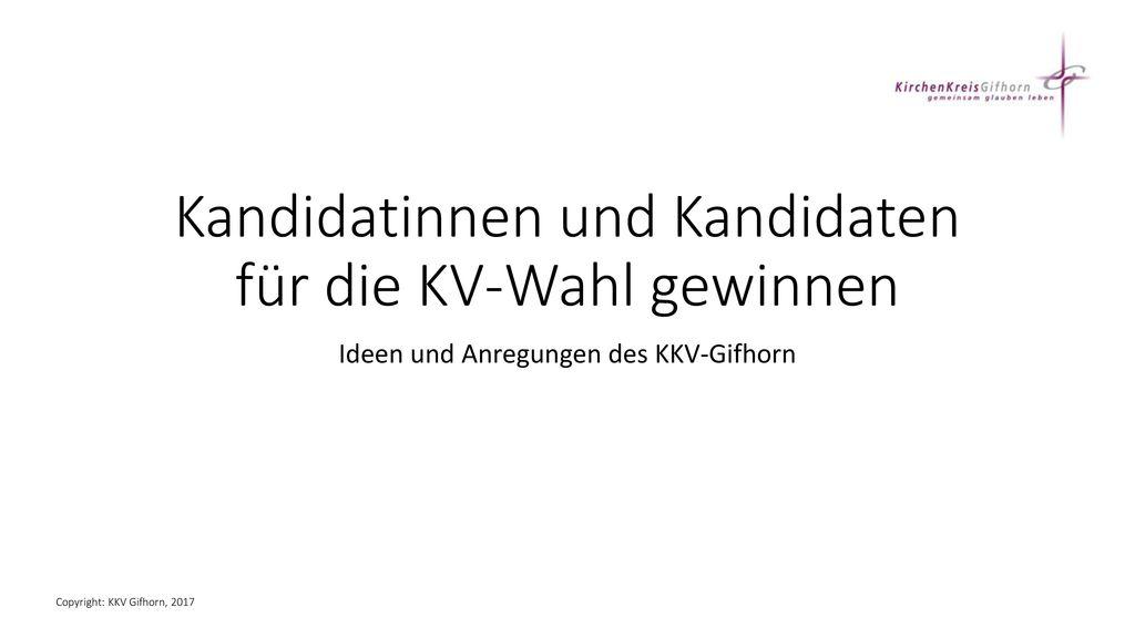 Kandidatinnen und Kandidaten für die KV-Wahl gewinnen