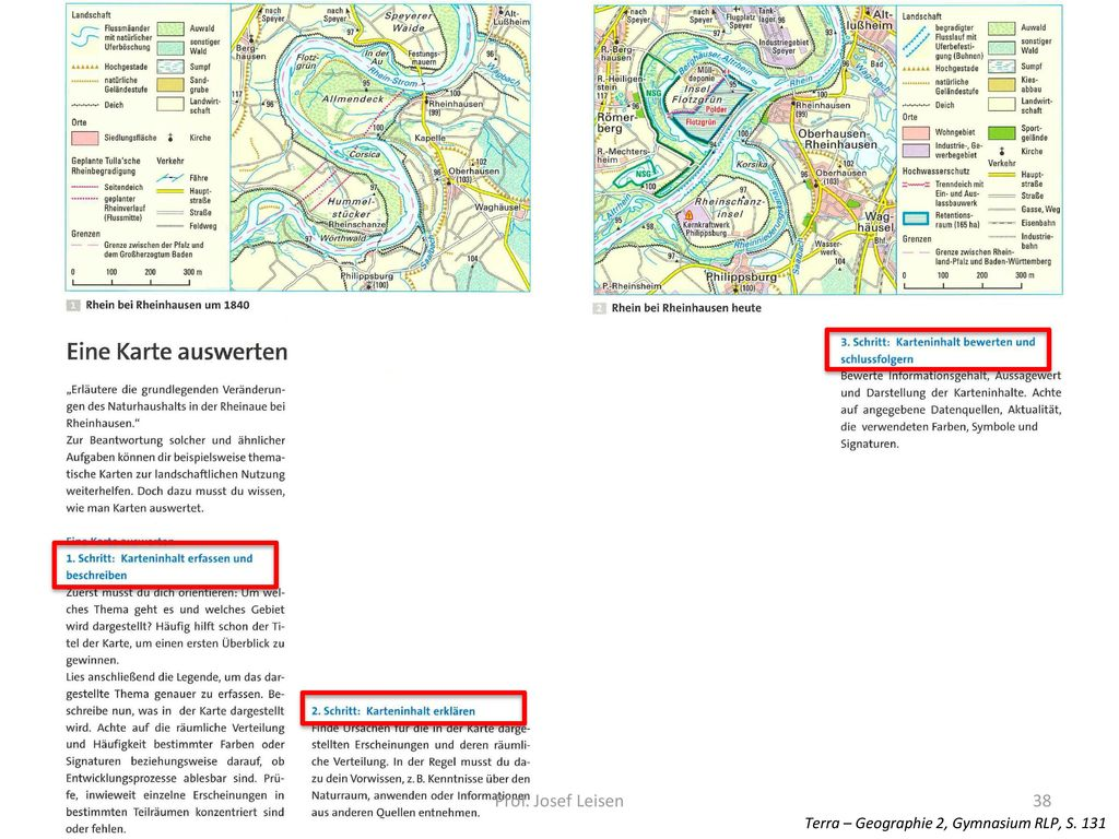 Prof. Josef Leisen Terra – Geographie 2, Gymnasium RLP, S. 131