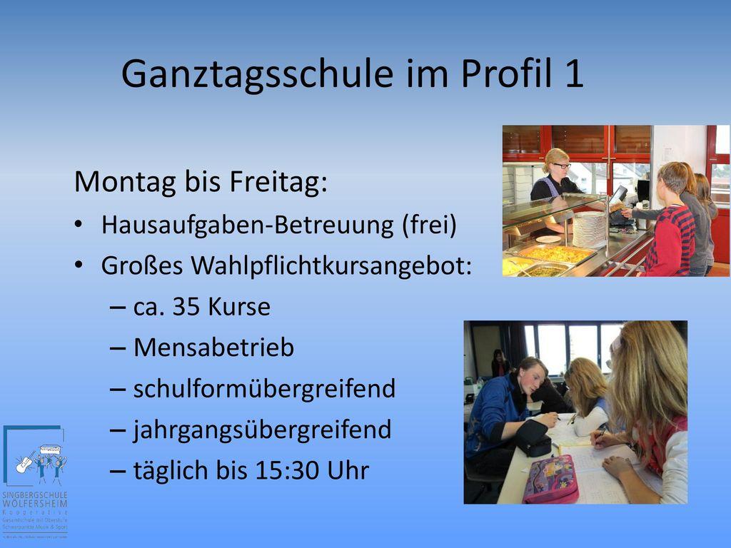 Ganztagsschule im Profil 1