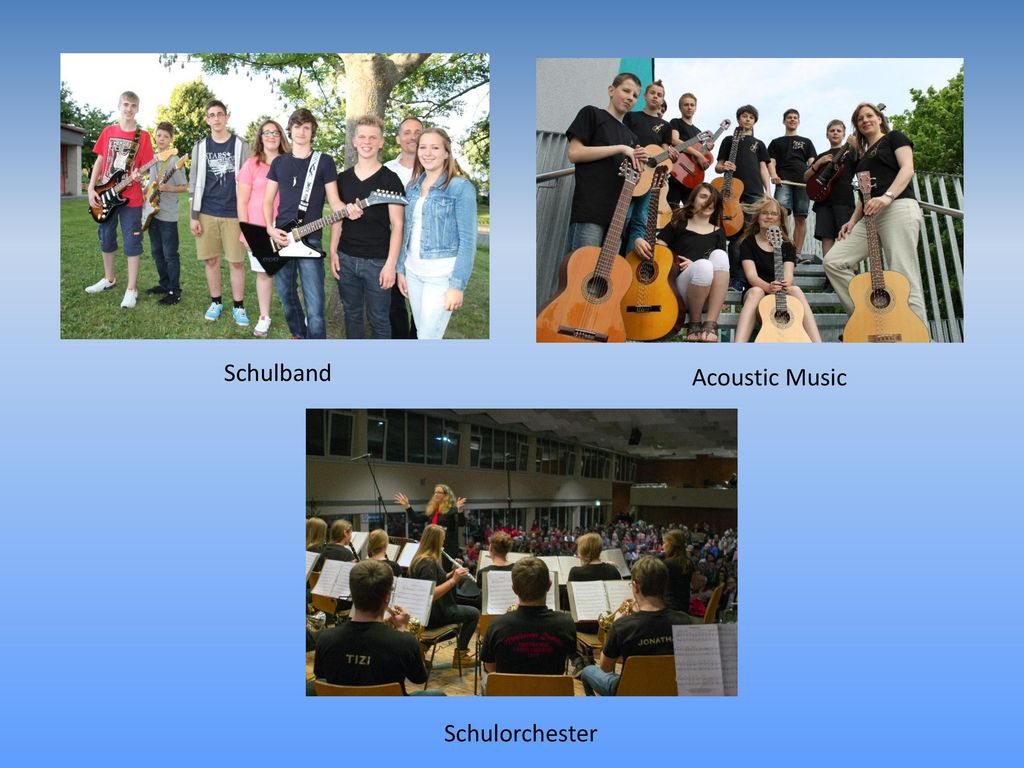 Schulband Acoustic Music Schulorchester