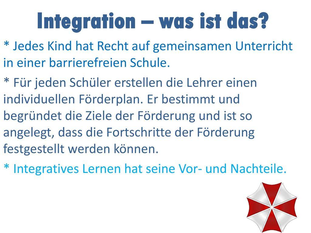 Integration – was ist das