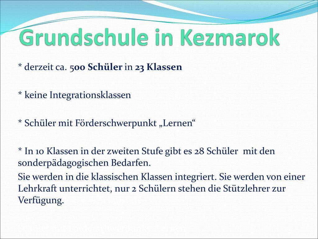 Grundschule in Kezmarok