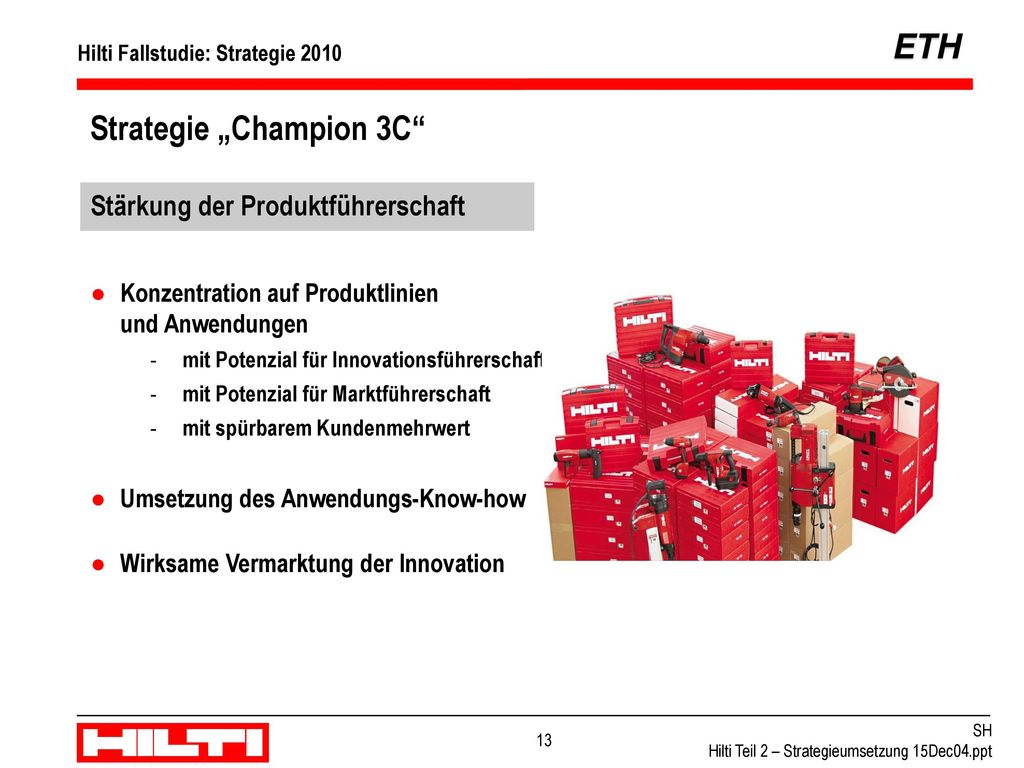 "Strategie ""Champion 3C"