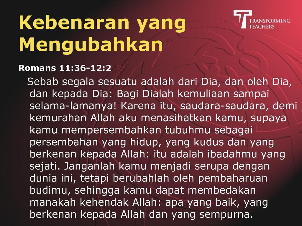 Injil = Kabar Baik Allah peduli Allah hadir Allah tidak diam