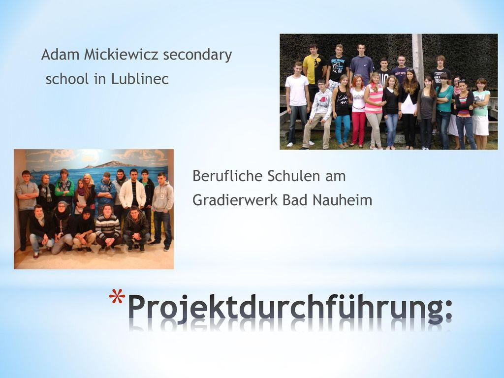 Projektdurchführung: