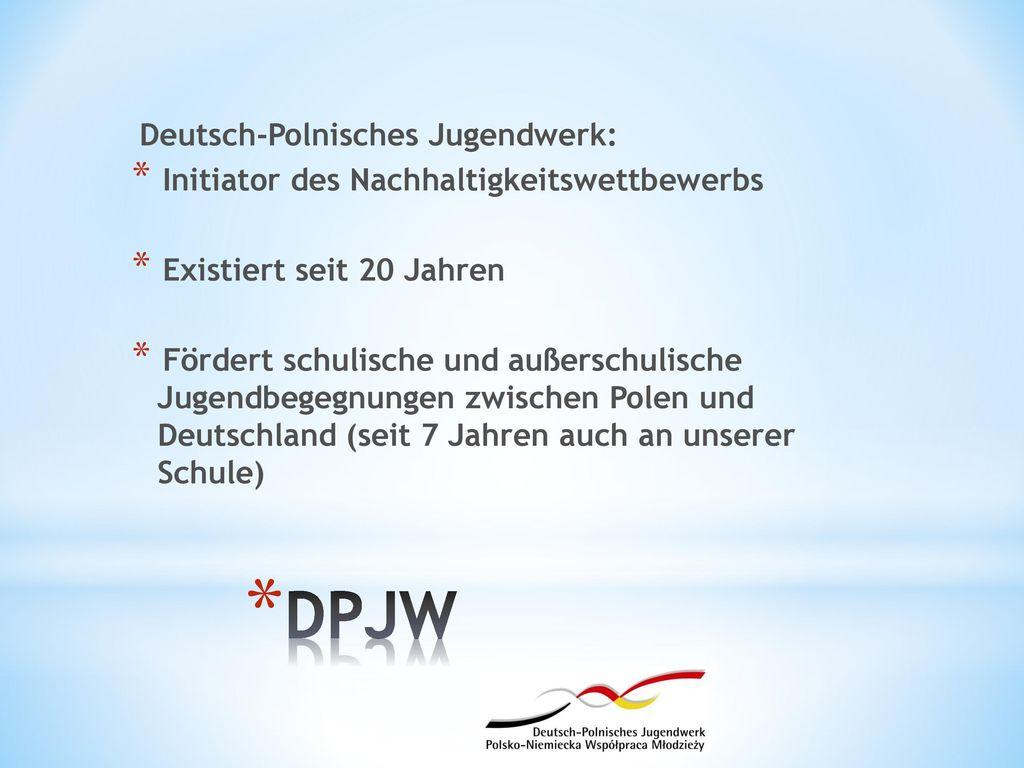 DPJW Deutsch-Polnisches Jugendwerk: