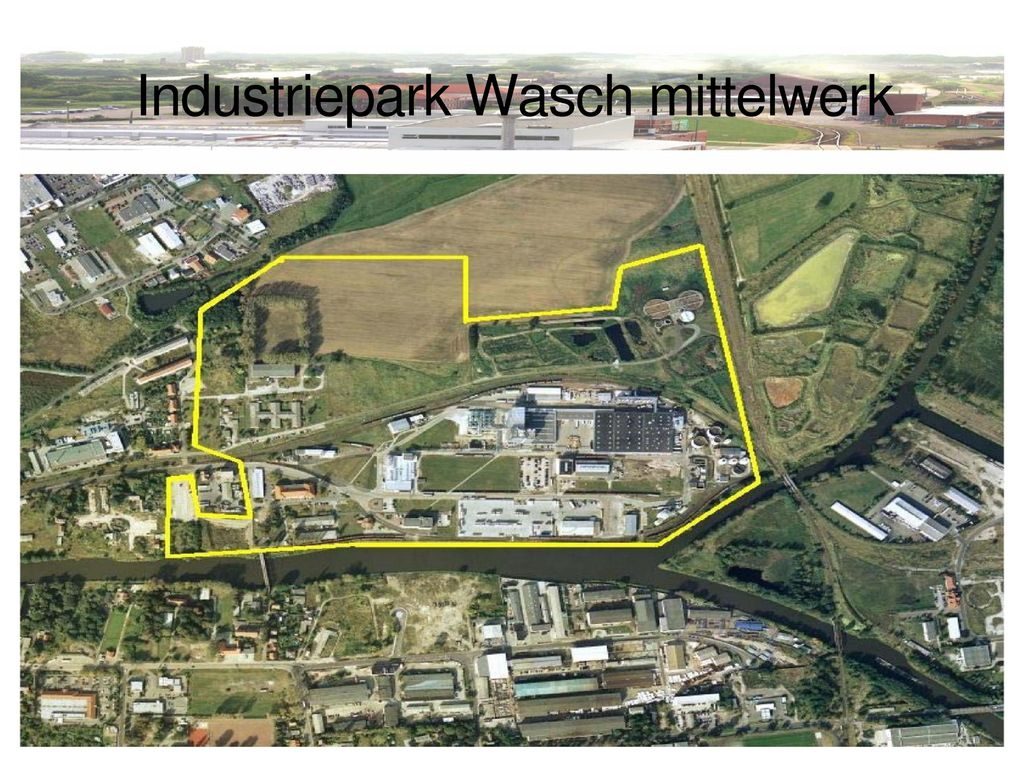 Industriepark Wasch mittelwerk
