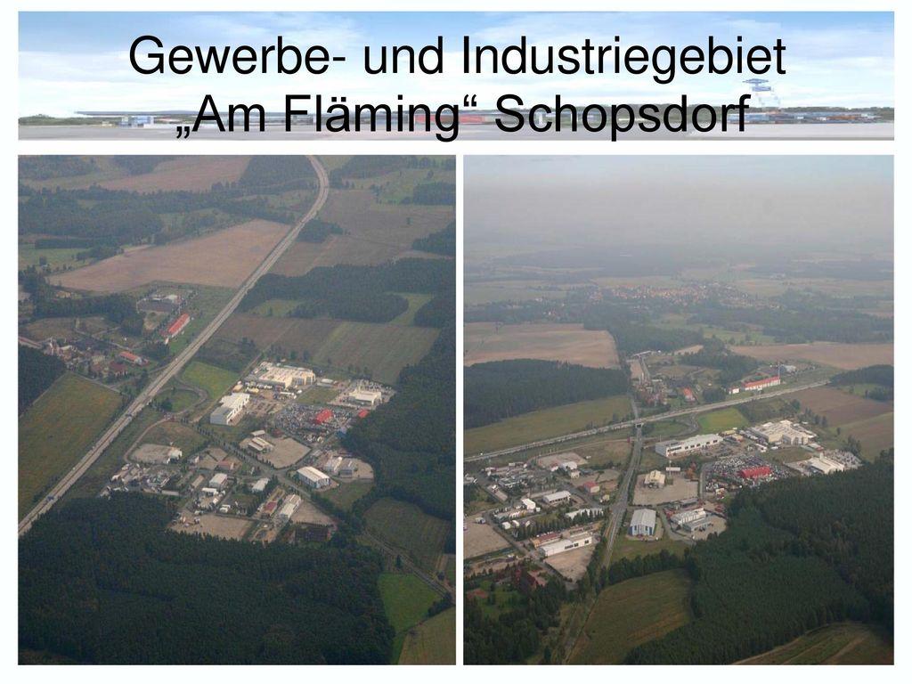 Gewerbe- und Industriegebiet