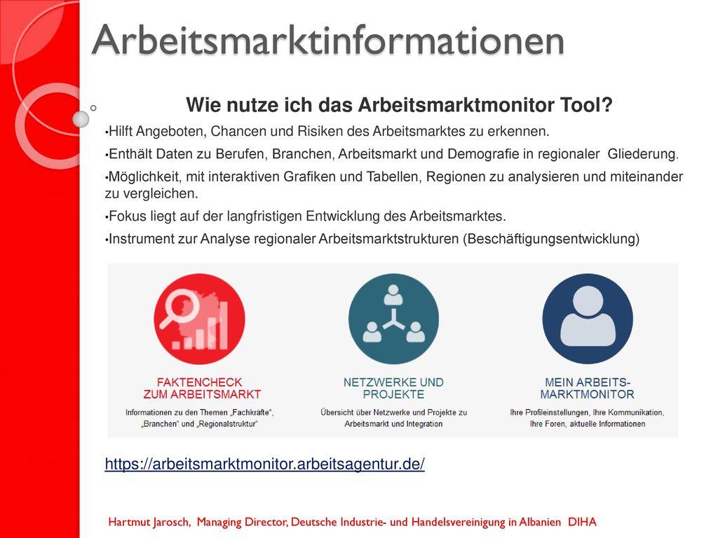 Arbeitsmarktinformationen