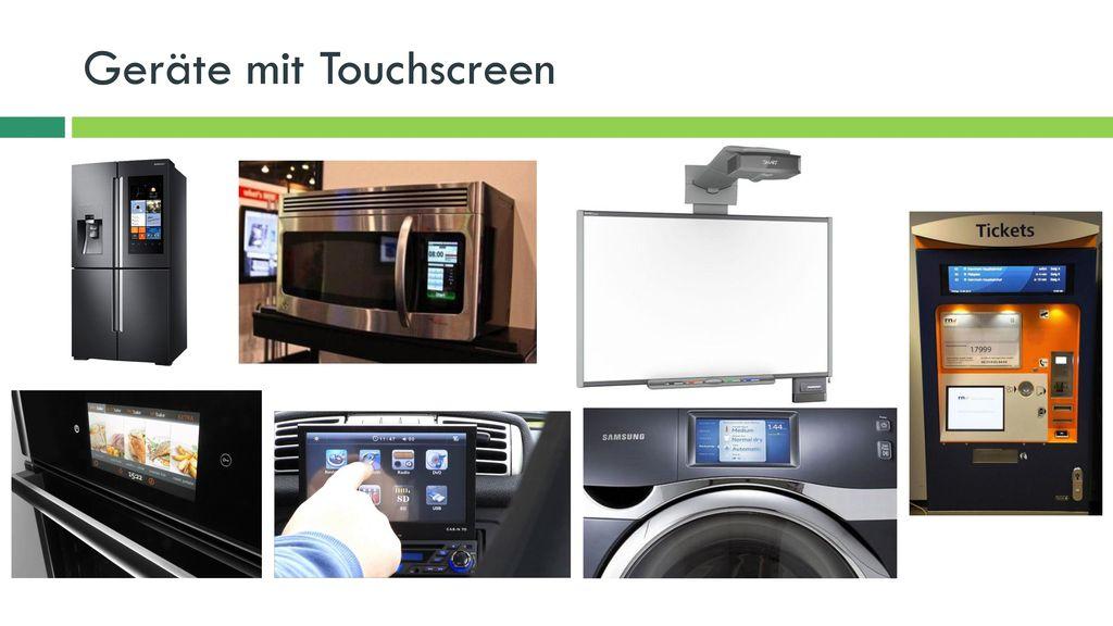 Geräte mit Touchscreen