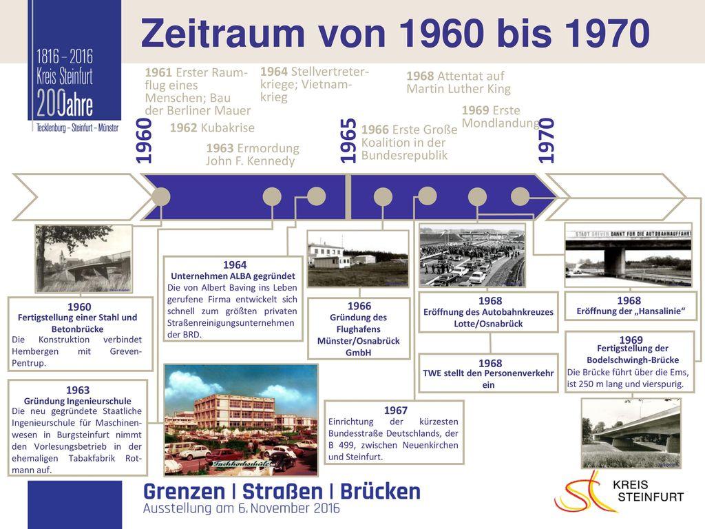 I Zeitraum von 1960 bis 1970 1960 1965 1970 1968 Attentat auf