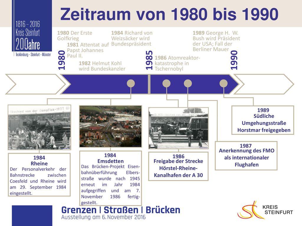 I Zeitraum von 1980 bis 1990 1980 1985 1990 1980 Der Erste