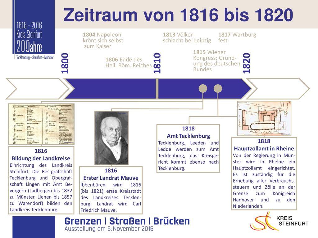 Hauptzollamt in Rheine Bildung der Landkreise