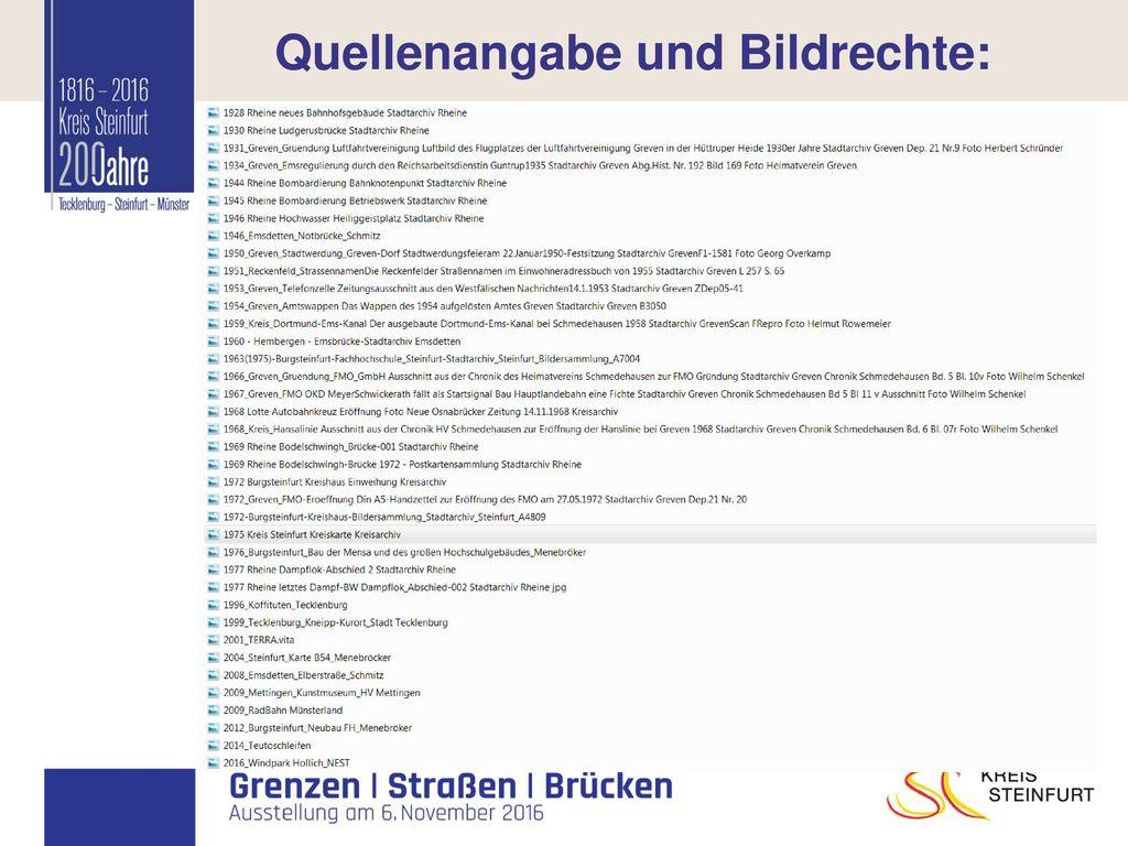 Quellenangabe und Bildrechte:
