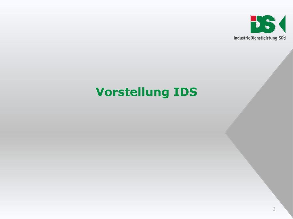 Vorstellung IDS