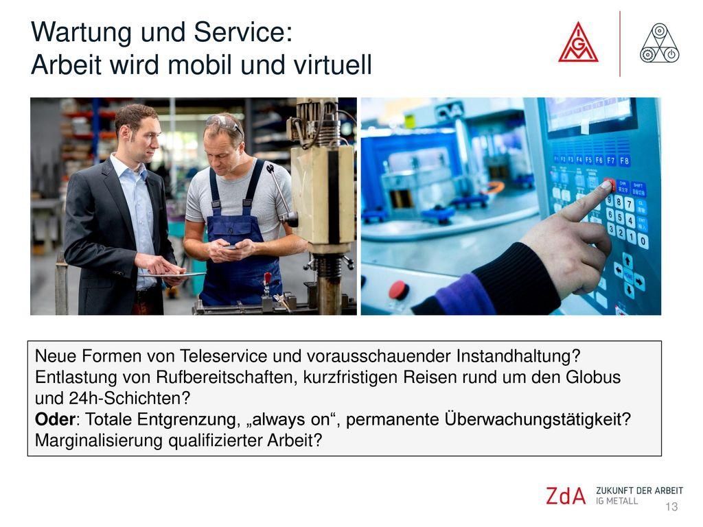 Wartung und Service: Arbeit wird mobil und virtuell
