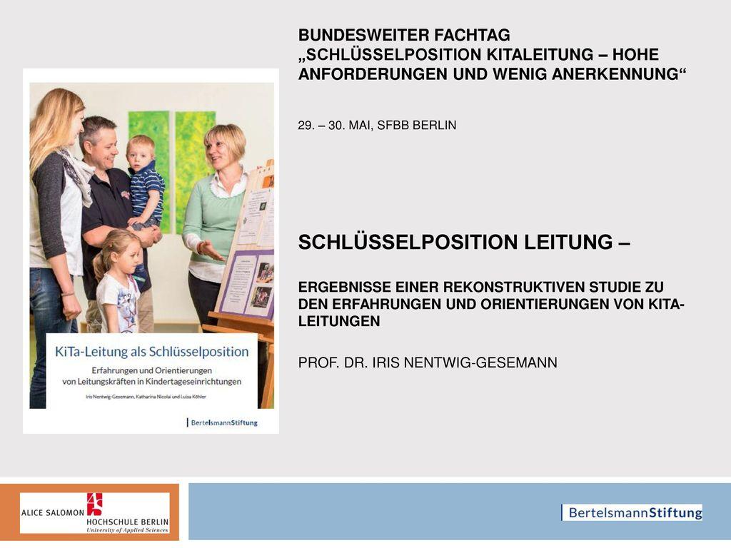 """Bundesweiter Fachtag """"Schlüsselposition Kitaleitung – Hohe Anforderungen und wenig Anerkennung 29."""