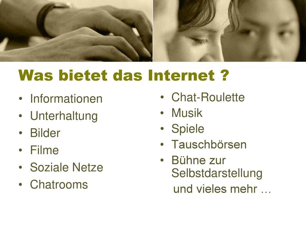 Was bietet das Internet
