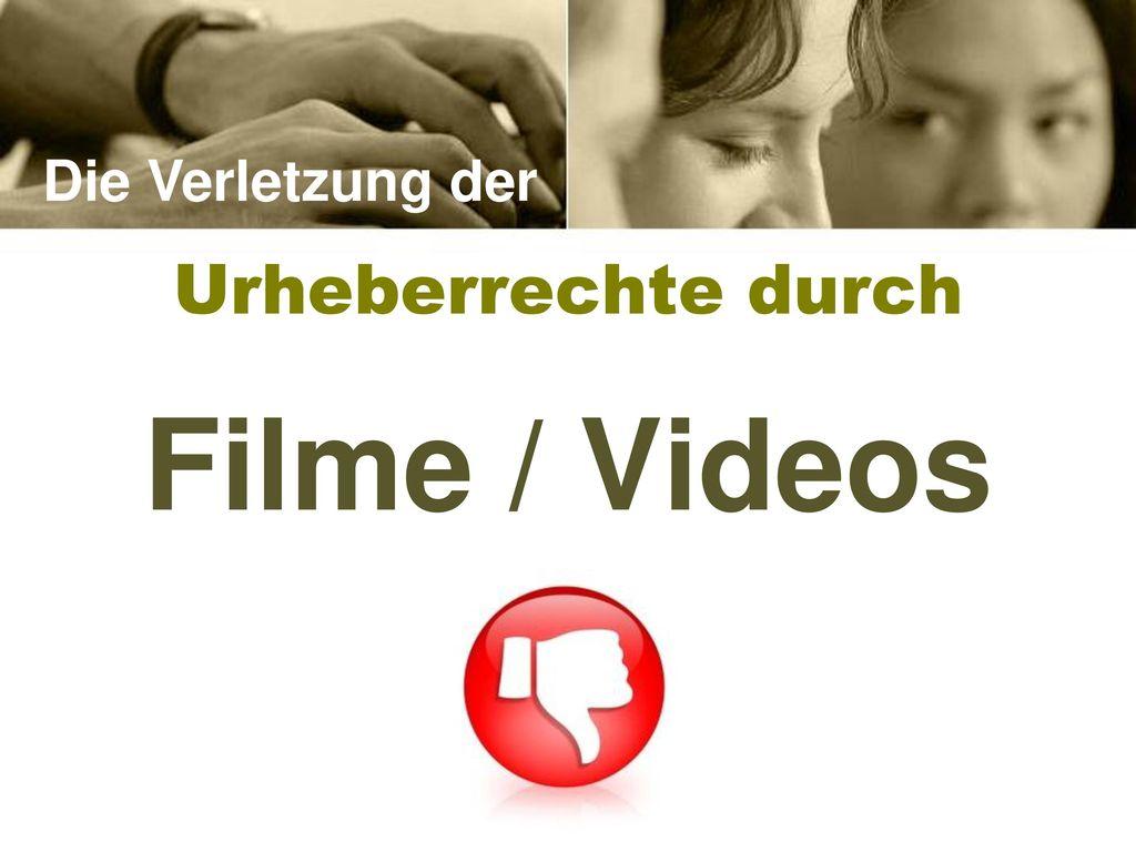 Filme / Videos Urheberrechte durch Die Verletzung der Lehrer Version