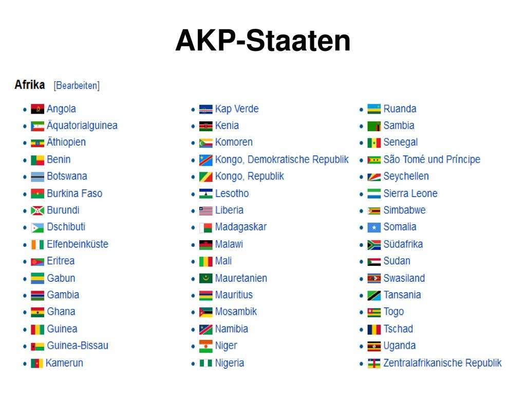 AKP-Staaten
