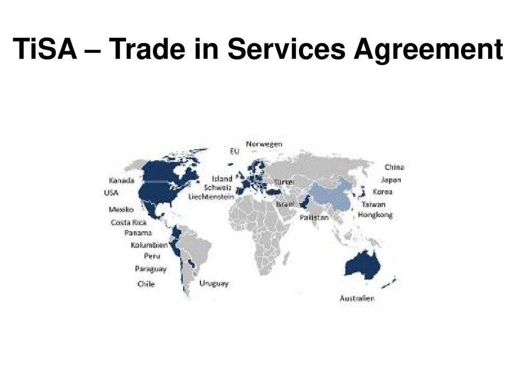 TiSA – Trade in Services Agreement