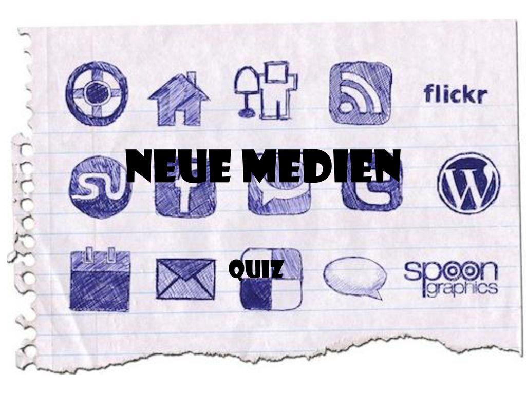 Neue Medien Quiz