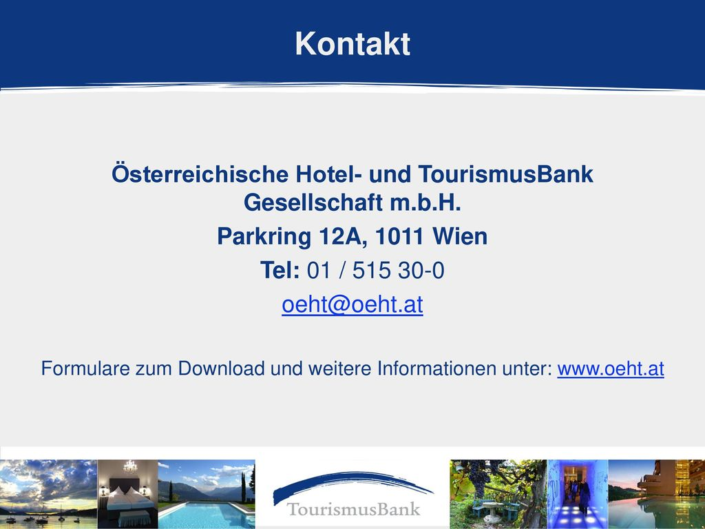 Österreichische Hotel- und TourismusBank Gesellschaft m.b.H.
