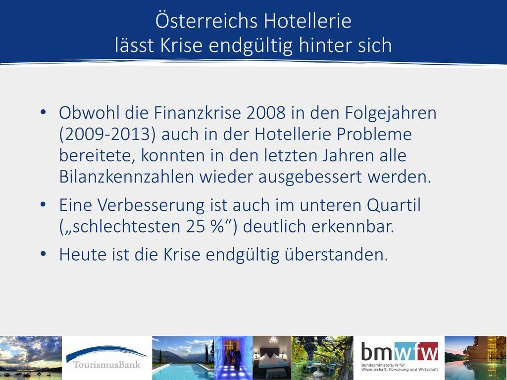 Österreichs Hotellerie lässt Krise endgültig hinter sich