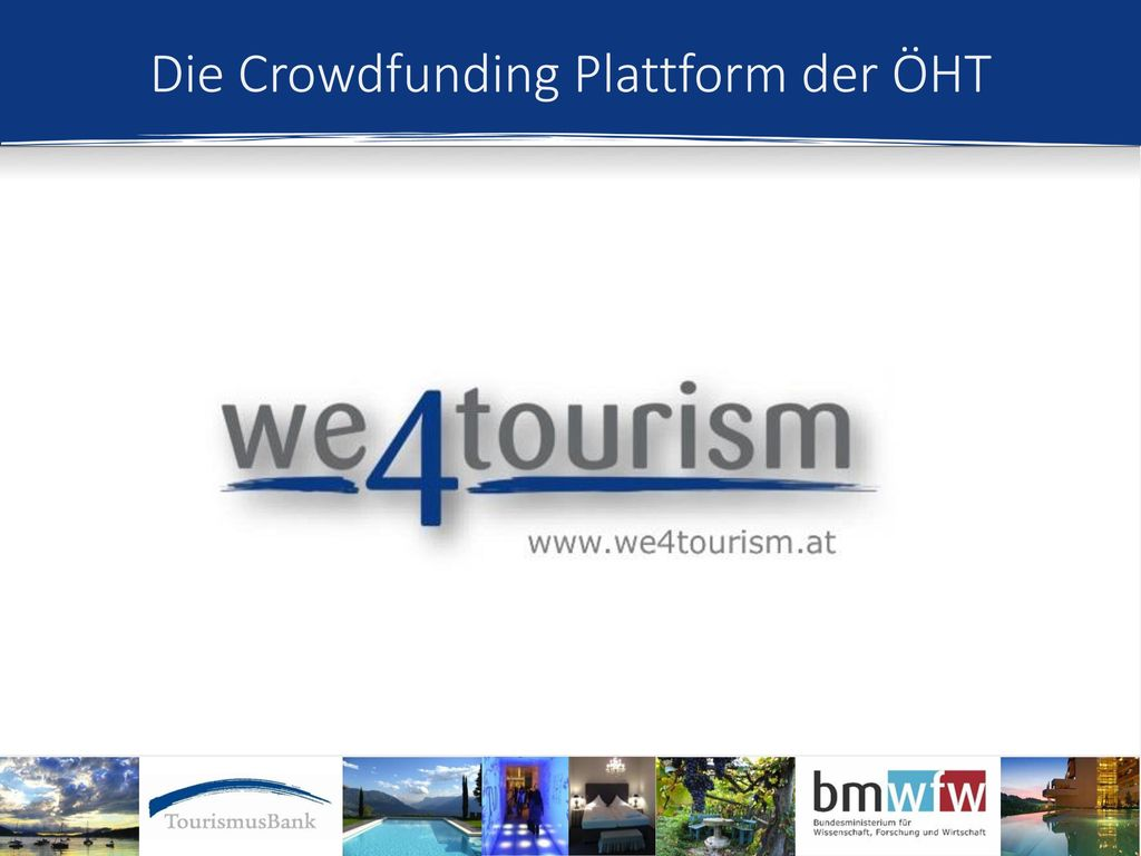 Die Crowdfunding Plattform der ÖHT