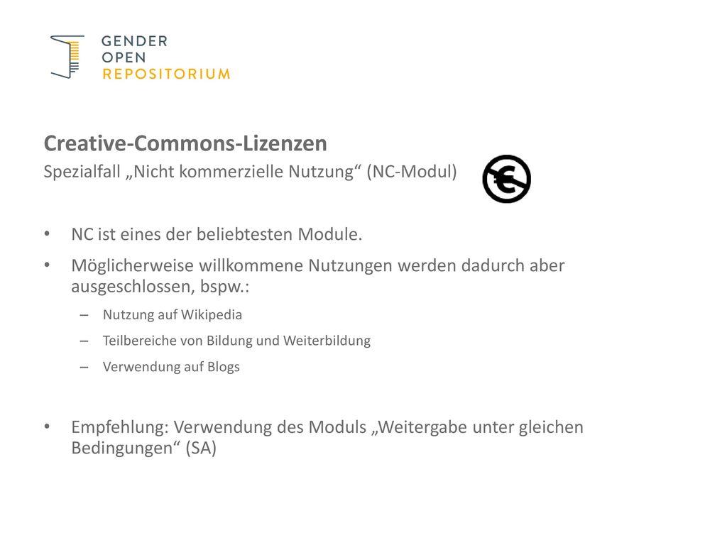 Creative-Commons-Lizenzen