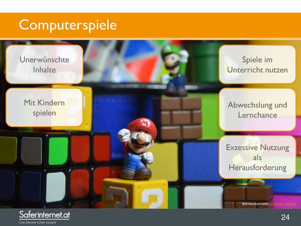 Computerspiele Unerwünschte Inhalte Spiele im Unterricht nutzen