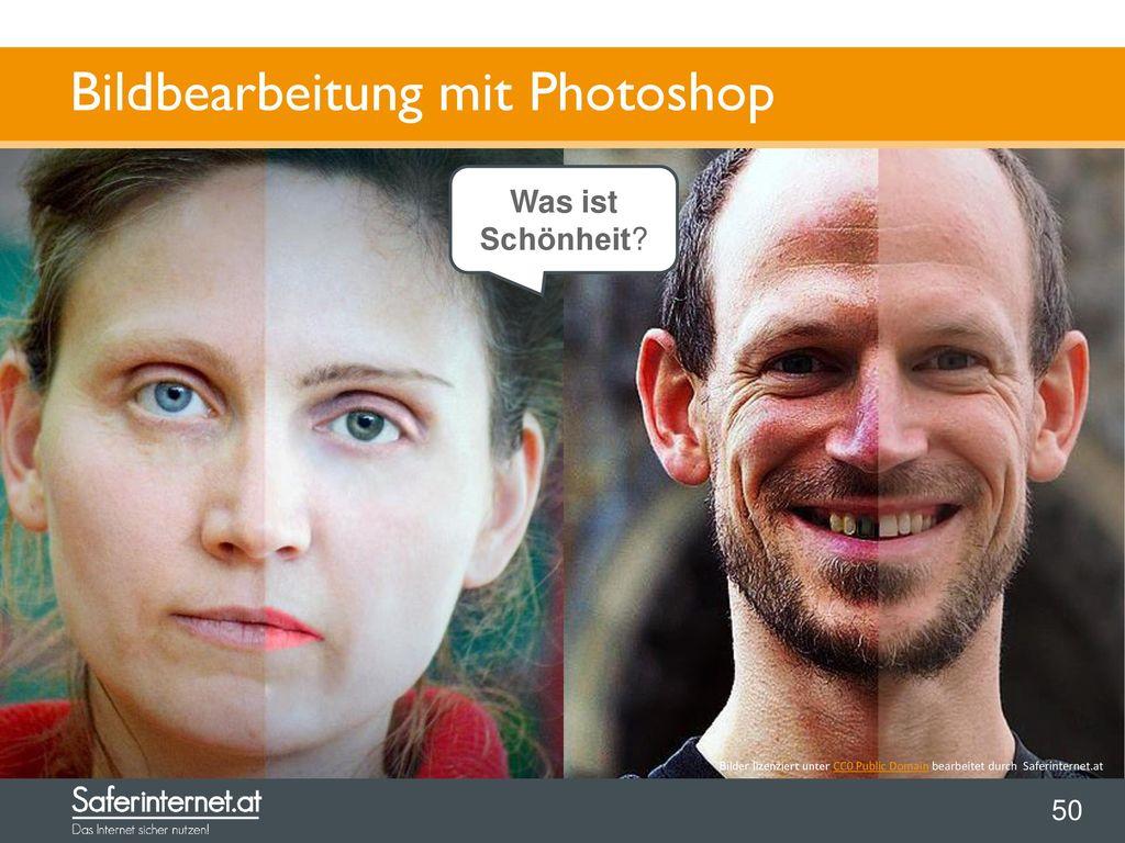 Bildbearbeitung mit Photoshop