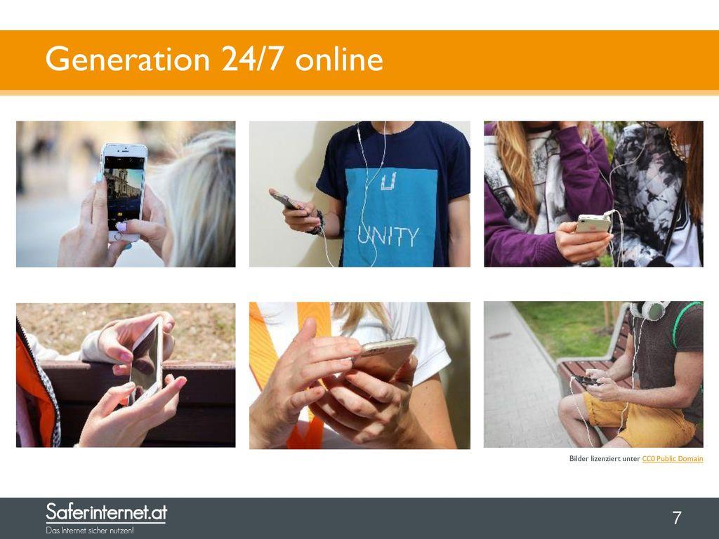 Generation 24/7 online