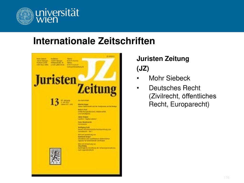 Internationale Zeitschriften