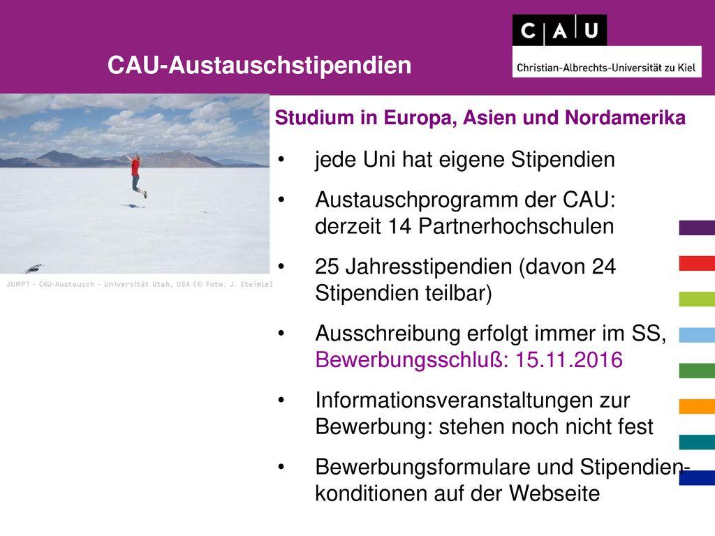 CAU-Austauschstipendien
