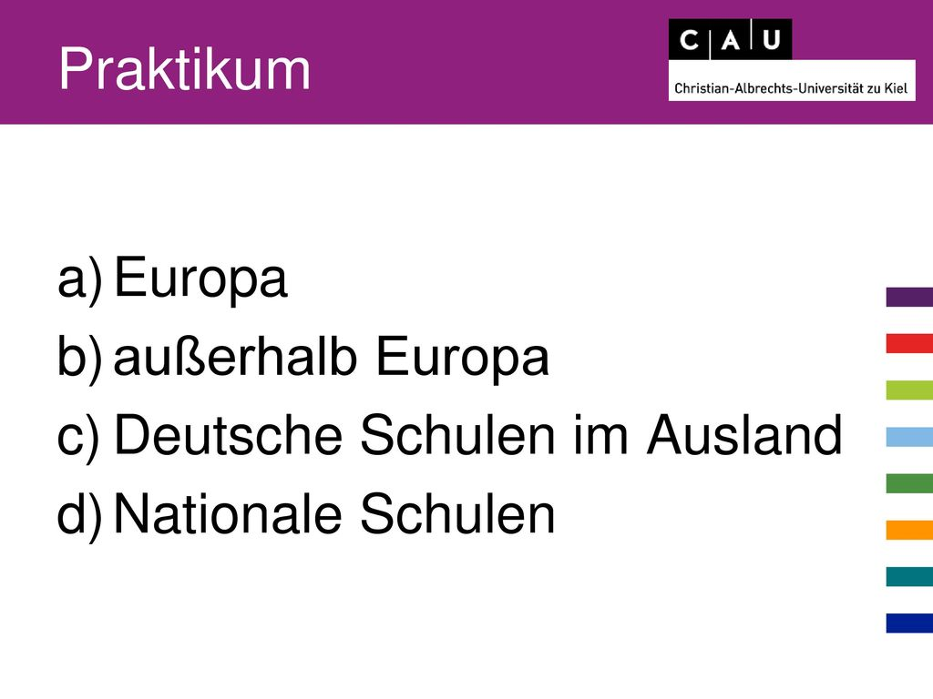 Praktikum Europa außerhalb Europa Deutsche Schulen im Ausland