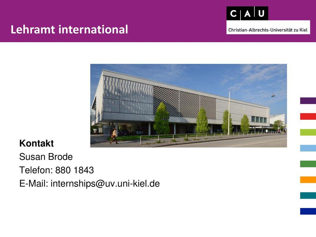 Lehramt international