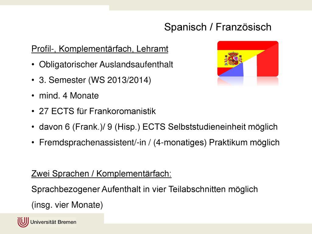 Spanisch / Französisch