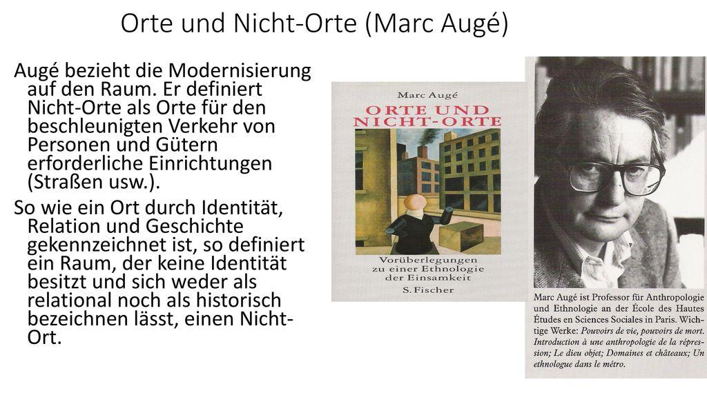Orte und Nicht-Orte (Marc Augé)