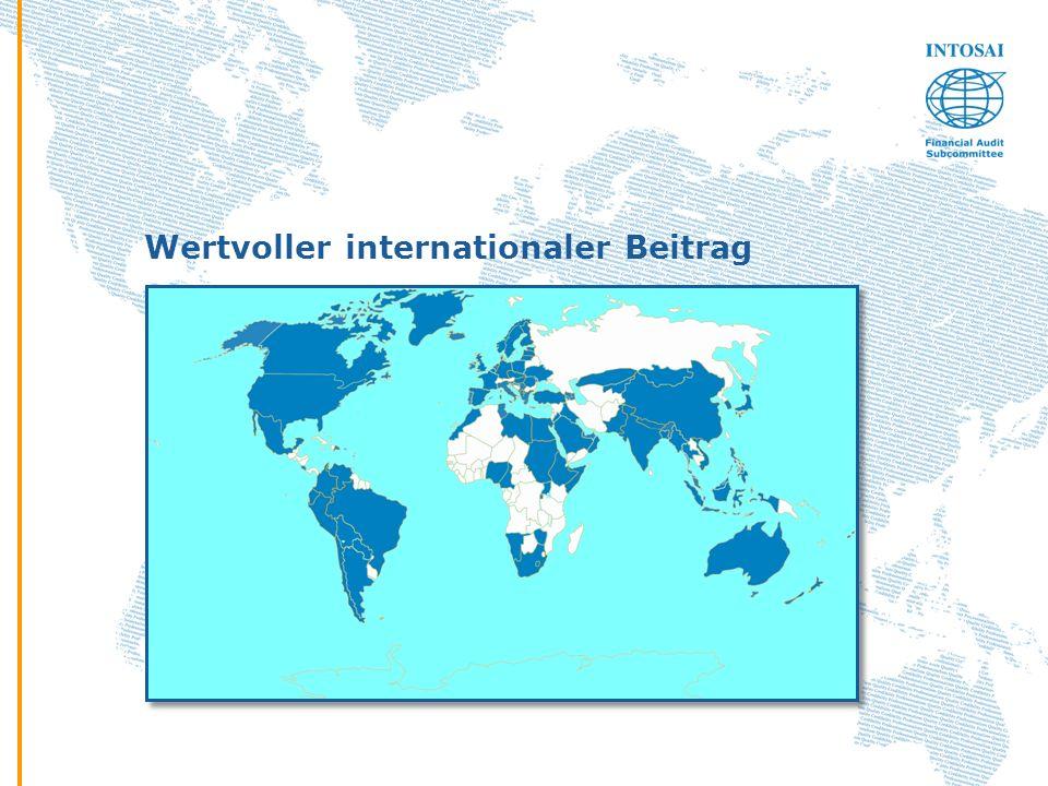 Wertvoller internationaler Beitrag