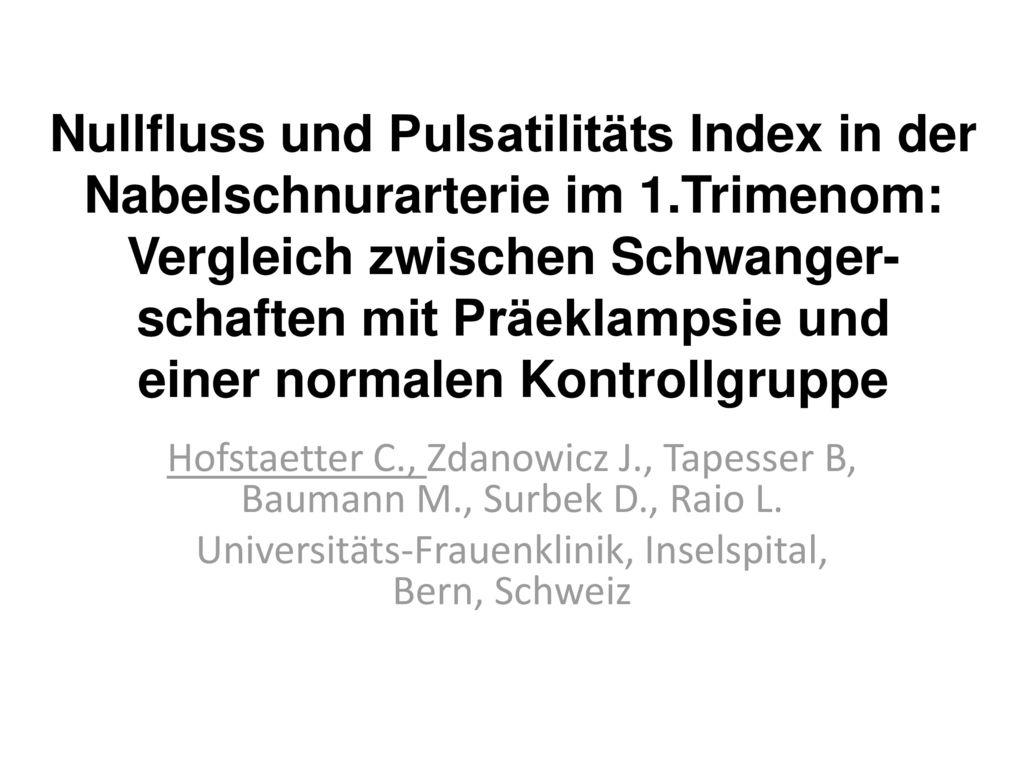 Universitäts-Frauenklinik, Inselspital, Bern, Schweiz