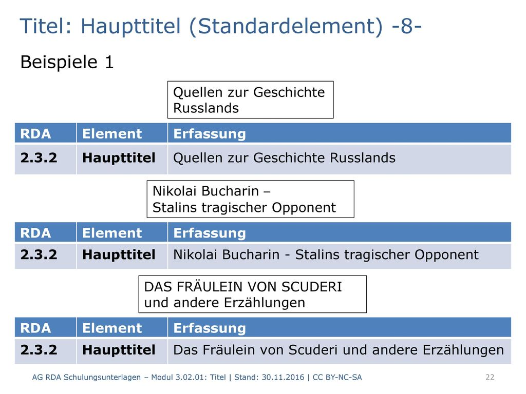 Titel: Haupttitel (Standardelement) -8-
