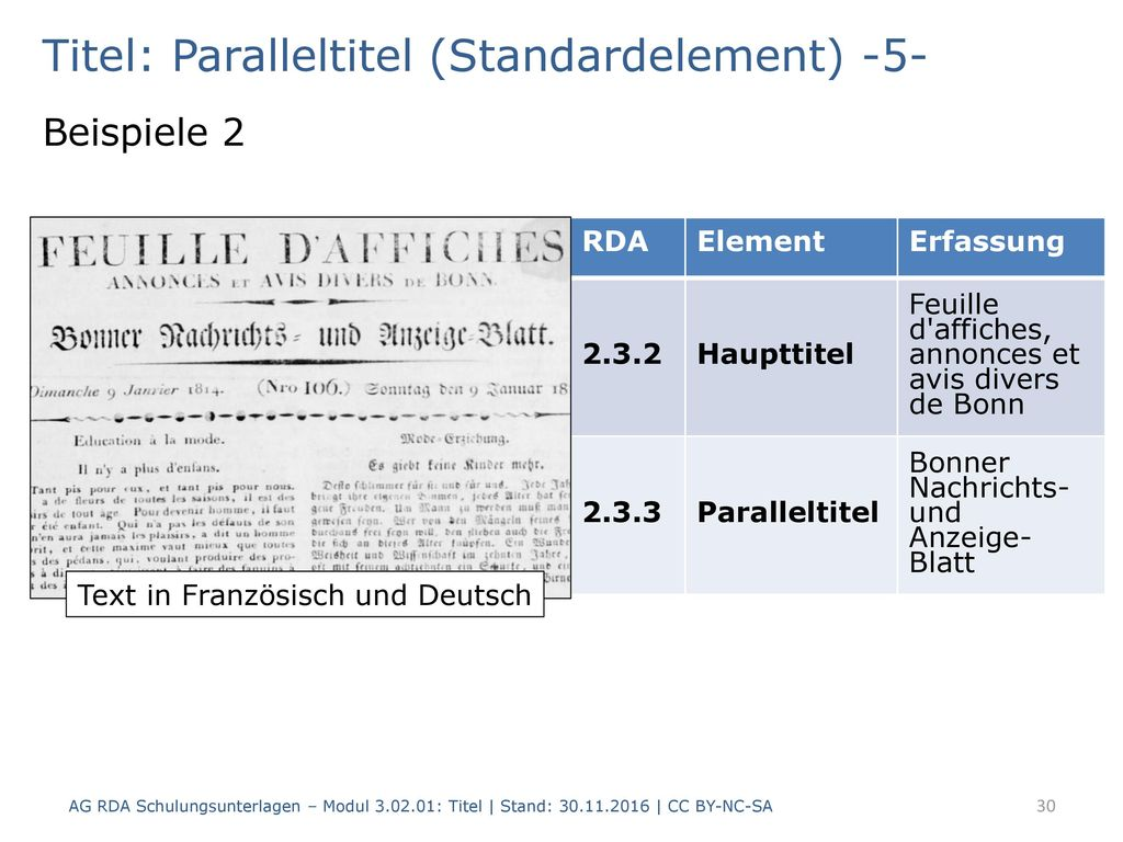 Titel: Paralleltitel (Standardelement) -5-