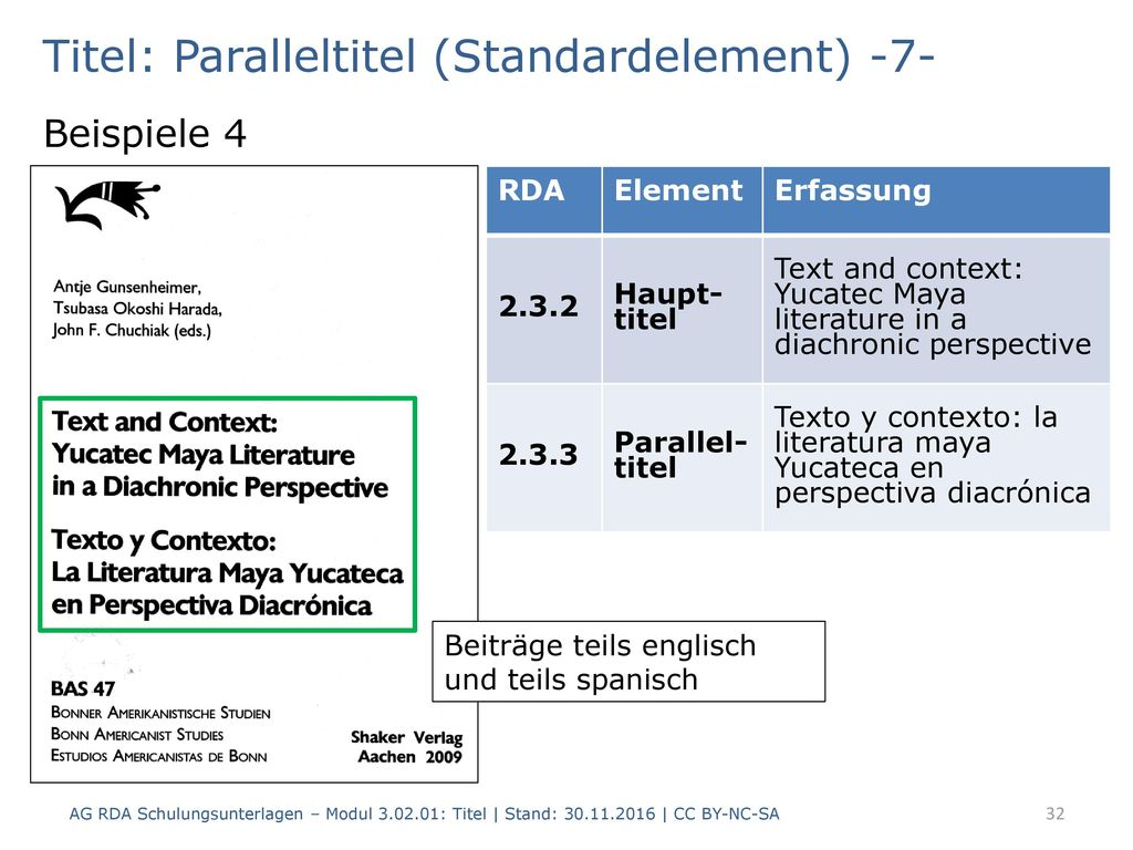 Titel: Paralleltitel (Standardelement) -7-