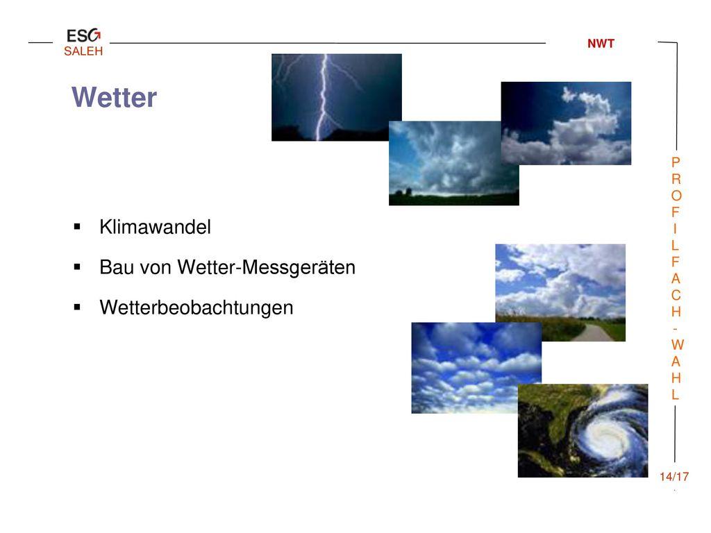 Wetter Klimawandel Bau von Wetter-Messgeräten Wetterbeobachtungen